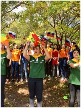22 сентября - Мы участники XVIII городского молодежного туристического слета.